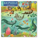 Eeboo 64 Piece Puzzle - Otters at Play